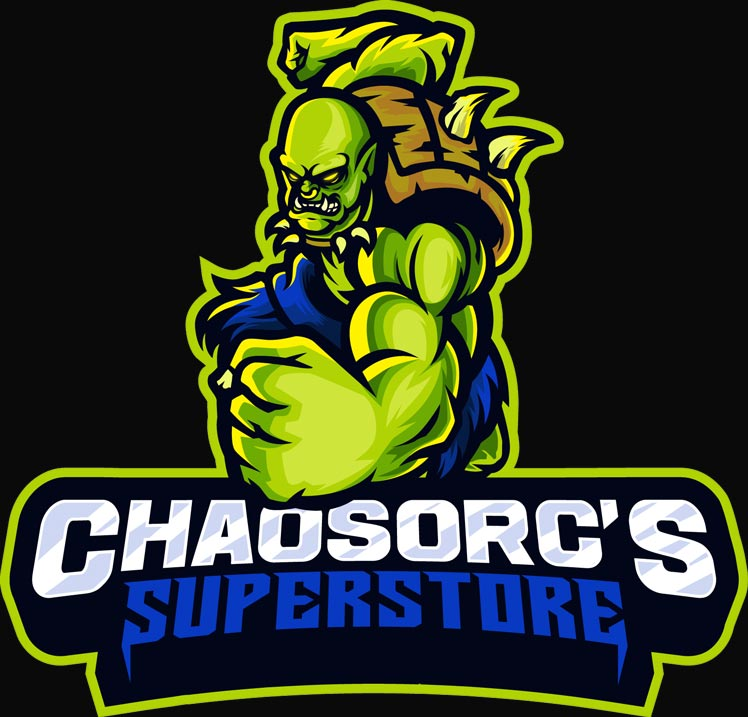 Chaos Orc`s Superstore games, miniatures, and supplies for sale